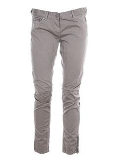 craft pantalons et decontractes femme de couleur marron