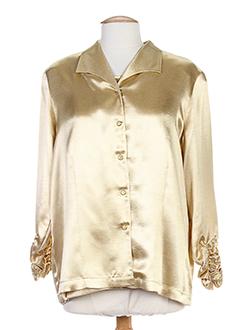 eugen klein chemises femme de couleur beige