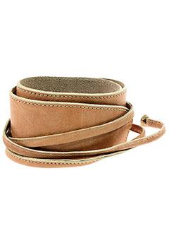 aridza et bross ceintures femme de couleur rose