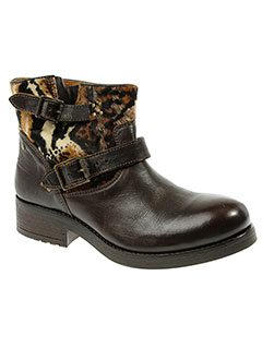 koah boots femme de couleur marron