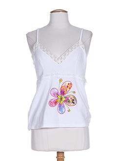 azuleros t et shirts et tops femme de couleur blanc