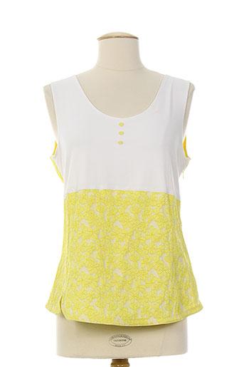 karting chemises femme de couleur jaune