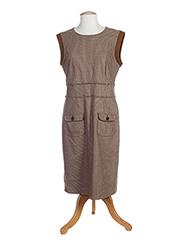 Robe mi-longue marron HAUBER pour femme seconde vue