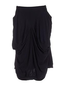 my square jupes femme de couleur noir