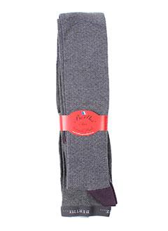 berthe et aux et grands et pieds bas et collants femme de couleur violet