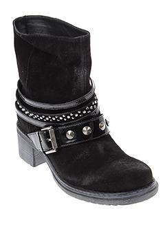 janet et sport boots femme de couleur noir