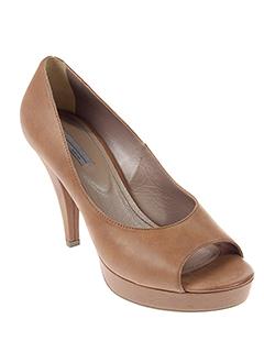 vic sandales et nu et pieds femme de couleur marron