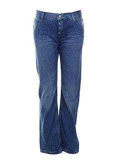 name it jeans fille de couleur bleu