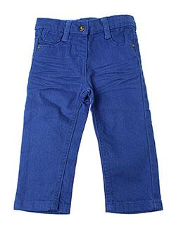 3 et pommes pantalons et decontractes fille de couleur bleu
