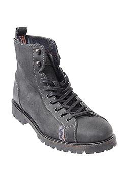 u et s et polo et assn boots homme de couleur noir