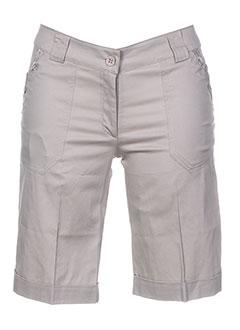 Produit-Shorts / Bermudas-Femme-EVA WEEK-END