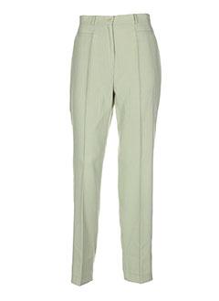 dix sur dix pantalons femme de couleur vert