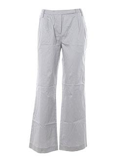 college pantalons femme de couleur gris