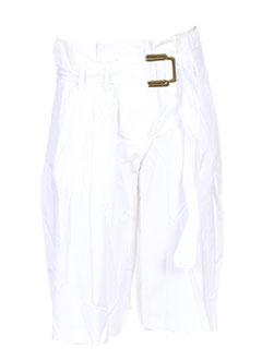 kenzo shorts / bermudas femme de couleur blanc