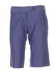 les petites collections shorts / bermudas femme de couleur bleu