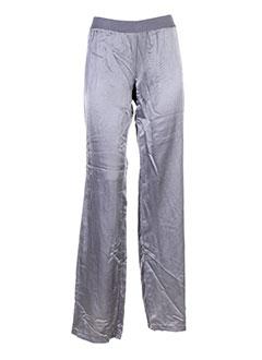 white pantalons et decontractes femme de couleur gris