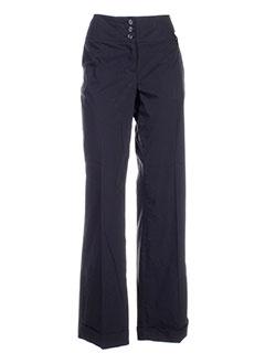 elo pantalons femme de couleur noir