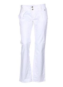 freesoul pantalons et decontractes femme de couleur blanc