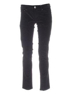 silvian et heach pantalons et decontractes femme de couleur noir