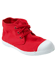 natural world chaussures garçon de couleur rouge