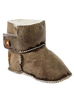 shepherd chaussons enfant de couleur marron