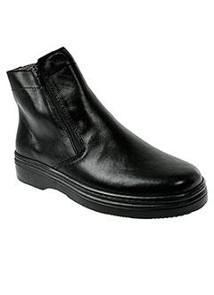 swedi boots homme de couleur noir