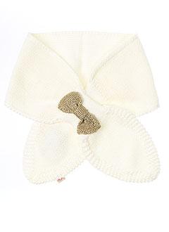 billieblush echarpes et gants fille de couleur blanc
