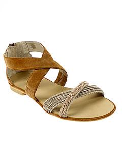 tosca et blu et shoes sandales et nu et pieds femme de couleur marron