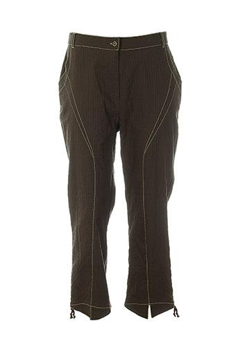jean gabriel pantacourts femme de couleur marron