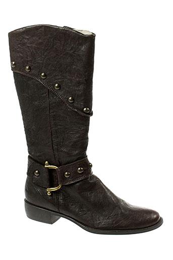 giulia bottes femme de couleur marron