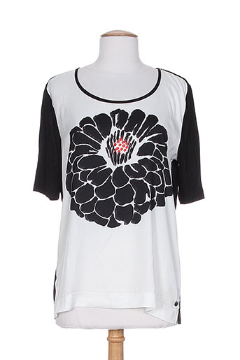 luisa cerano t-shirts femme de couleur noir