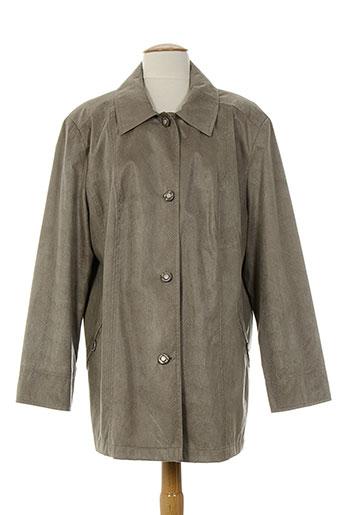 rofa fashion group manteaux femme de couleur beige