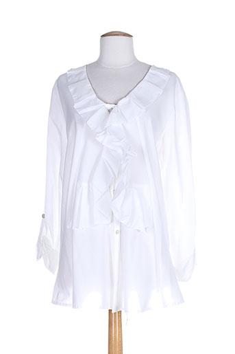 3322 tuniques femme de couleur blanc (photo)