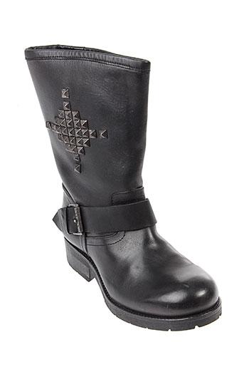 koah bottines femme de couleur noir