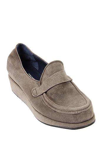 stephane gontard chaussures femme de couleur gris