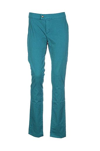 le et petit et baigneur pantalons et decontractes femme de couleur bleu