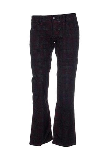 Pantalon casual marron FREE SOUL pour femme