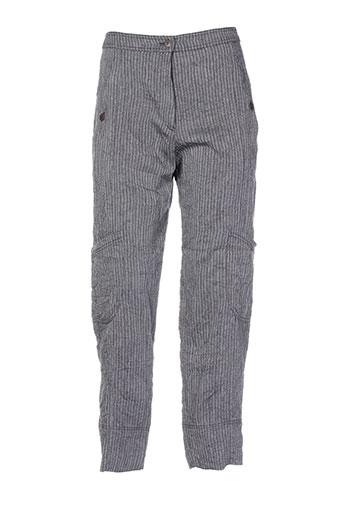 cannisse pantalons et decontractes femme de couleur gris