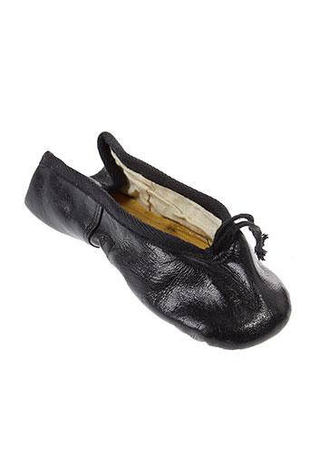 crait chaussures fille de couleur noir