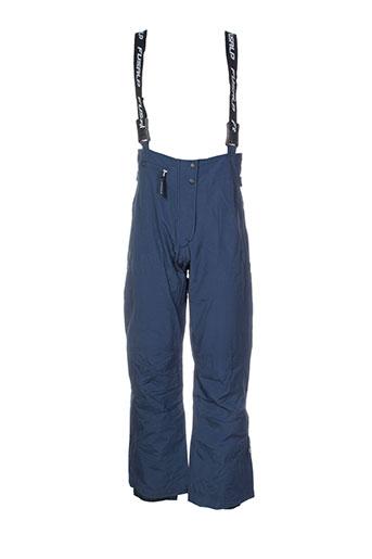 fusalp pantalons et decontractes femme de couleur bleu