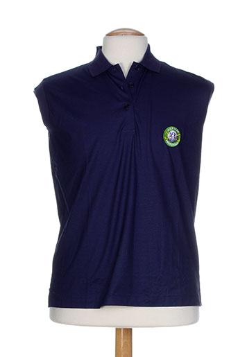 glenmuir t-shirts homme de couleur bleu