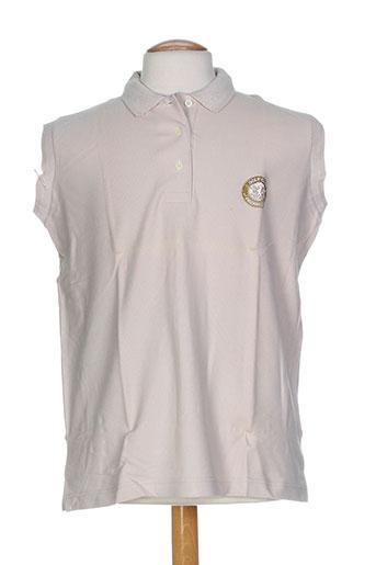 glenmuir t-shirts homme de couleur beige