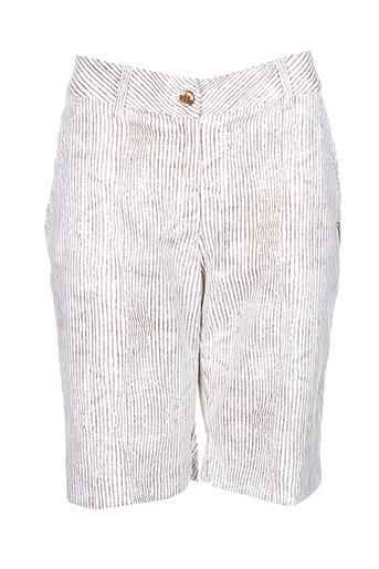 chervo sport shorts / bermudas femme de couleur blanc