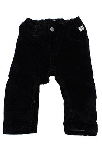mexx pantalons garçon de couleur noir
