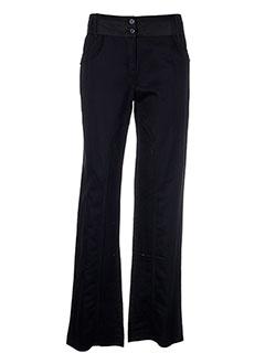 salt EFFI_CHAR_1 pepper pantalons femme de couleur noir