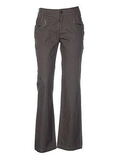 salt EFFI_CHAR_1 pepper pantalons femme de couleur vert