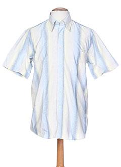 cap 10 ten chemises homme de couleur bleu