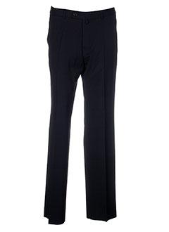 gianni marco pantalons homme de couleur noir