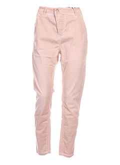 yaya pantalons et decontractes femme de couleur rose