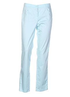 frank et walder pantalons et decontractes femme de couleur bleu